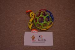 Gumový míček a šterchátko