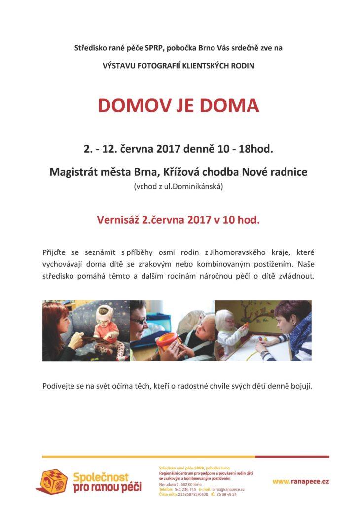 Pozvánka_výstava DOMOV JE DOMA